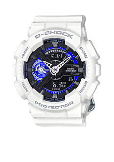 G-Shock Women's White and Blue S Series Watch