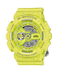 G-Shock Women's Yellow Heathered S Series Watch