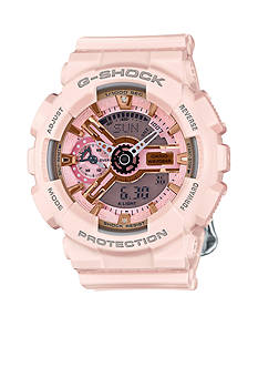 G-Shock Women's Pale Pink Ana-Digi S Series Watch