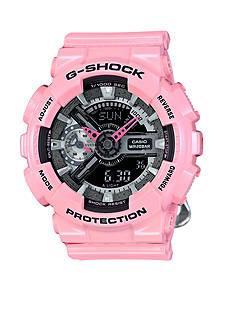 Women's Light Pink Ana-Digi G-Shock S Series Watch