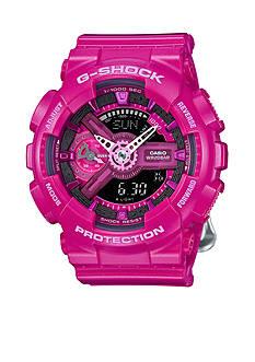 G-Shock Women's Dark Pink Ana-Digi S Series Watch