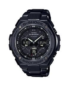Men's G-Shock Black IP G-Steel Watch