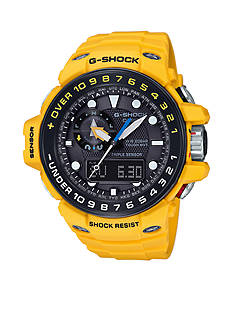 G-Shock Men's Yellow Master of G Gulfmaster Watch