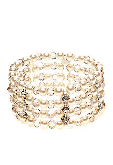 Kim Rogers® Pearl Multi-Row Stretch Bracelet
