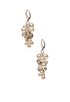 Kim Rogers® Pearl Cluster Earrings