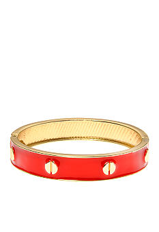 Kim Rogers Red and Gold Epoxy Bangle