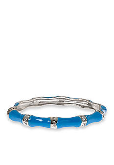 Kim Rogers Aqua Epoxy Crystal Bangle