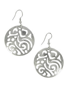 Erica Lyons Must Have Silver Disc Earrings