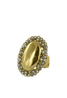 Erica Lyons Gold Oval Ring