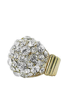 Erica Lyons Gold Crystal Ring