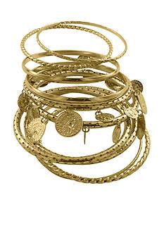 Erica Lyons Gold-Tone Bracelet Set
