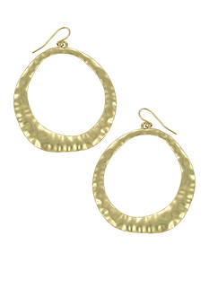 Erica Lyons Gold-Tone Mine Earring