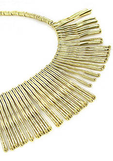 Erica Lyons Gold-Tone Mine Necklace