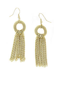 Erica Lyons Gold Earrings