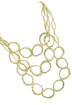 Erica Lyons Gold Link Necklace