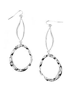 Erica Lyons Silver Lining Earrings