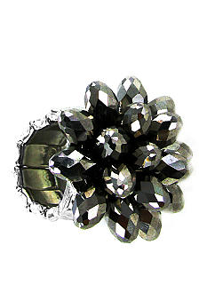 Erica Lyons Bead Flower Ring