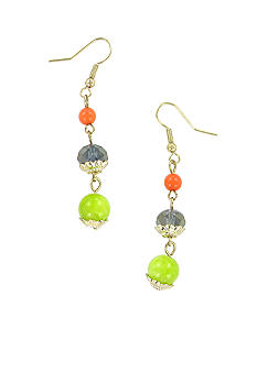 Erica Lyons Sea Cruise Pierced Earrings
