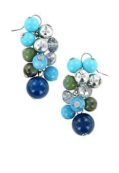 Erica Lyons Bermuda Blue Earrings