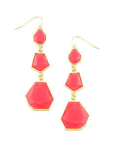 Erica Lyons Lemoncello Crush Pierced Earrings