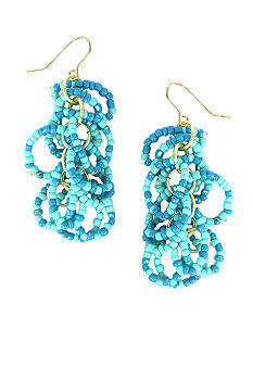 Erica Lyons Paradise Found Pierced Earrings
