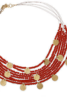 Erica Lyons Seedbead Items Necklace