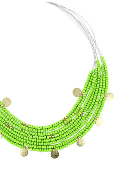 Erica Lyons Seedbead Item Necklace
