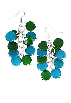 Erica Lyons Color Block Earrings