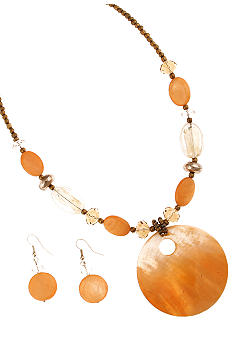 Erica Lyons Necklace and Earrings Set