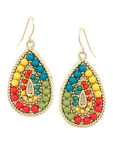 Erica Lyons Bohemian Beauty Pierced Earrings