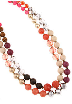 Erica Lyons Color Block Necklace
