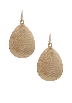 Erica Lyons Gold-Tone Metal Update Earrings