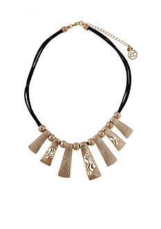Erica Lyons Gold Metal Update Necklace