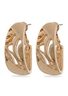 Erica Lyons Gold Earrings