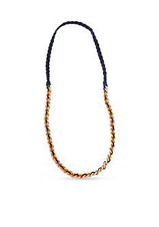 Erica Lyons Gold-Toned Hello Sailor Chain and Ribbon Long Necklace