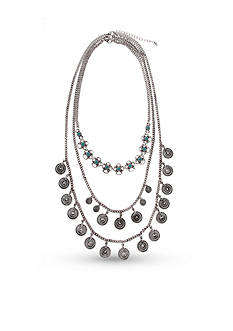 Erica Lyons Silver-Tone Go West 7 Ways to Wear Necklace Set