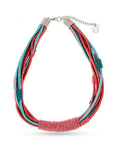Erica Lyons Silver-Tone South West Spirit Multistrand Necklace