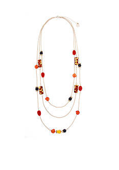 Erica Lyons Gold-Tone Tortally Reinvented Layered Necklace