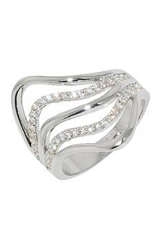 Belk Silverworks Wave Ring