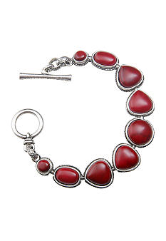 Lucky Brand Jewelry Lucky Brand Red Set Stone Bracelet