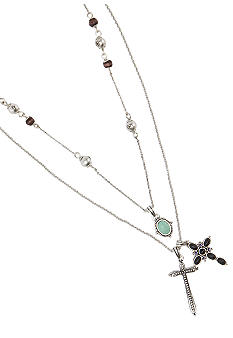 Lucky Brand Jewelry Cross Charm Necklace
