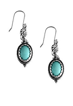 Lucky Brand Jewelry Turquoise Drop Earrings