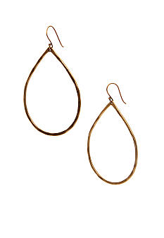 Lucky Brand Jewelry Teardrop Hoop Earrings