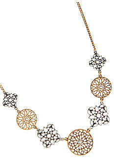 Lucky Brand Jewelry Two Toned Necklace