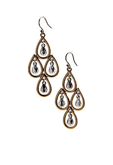 Lucky Brand Jewelry Teardrop Chandelier Earrings