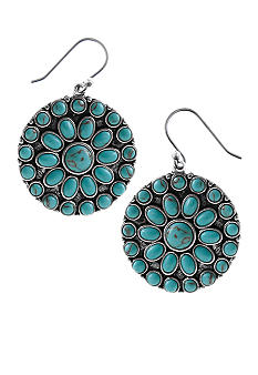 Lucky Brand Jewelry Turquoise Earrings