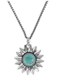 Lucky Brand Jewelry Sunflower Pendant Necklace