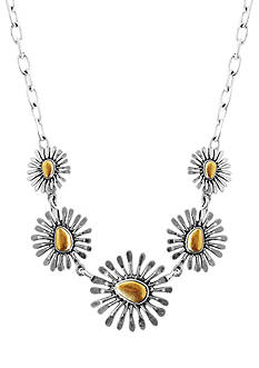 Lucky Brand Jewelry Floral Frontal Necklace