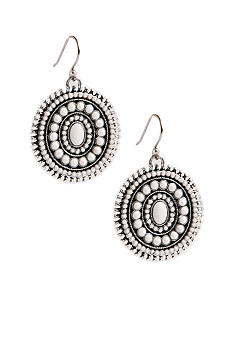 Lucky Brand Jewelry White Drop Earrings