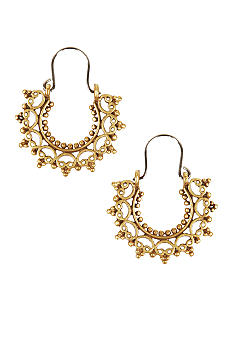 Lucky Brand Jewelry Filigree Hoops